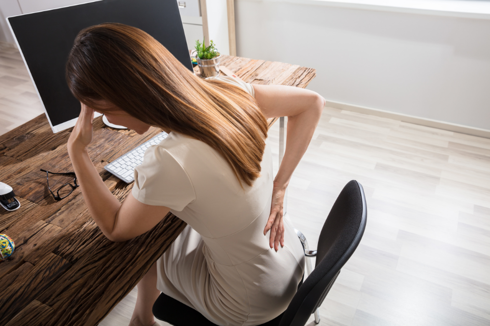 How to Prevent Back Pain From Sitting All Day
